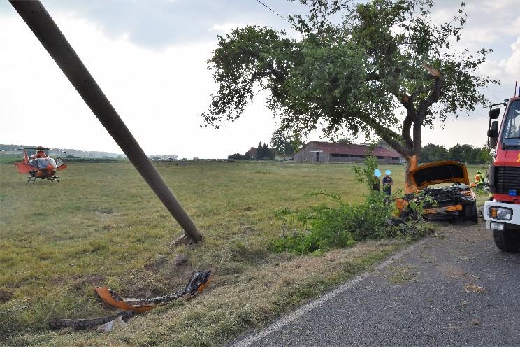 Verkehrsunfall L641
